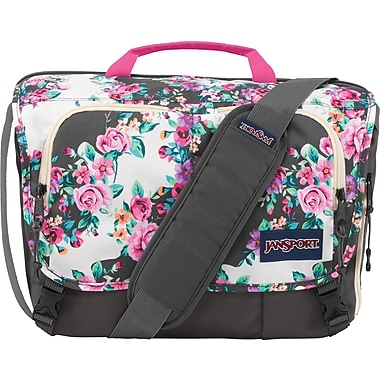 Jansport Tasker Messenger, Grey Floral | Staples®