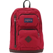 Jansport Austin Viking Red Polyester/Faux Leather Backpack (T71A9FL)