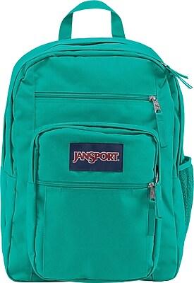 Jansport Big Student Backpack, Spanish Teal