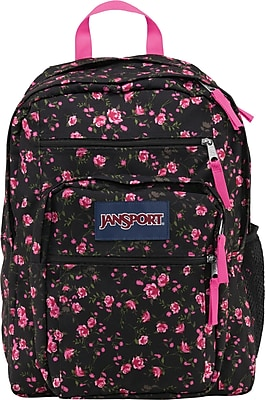 Jansport Big Student Pink Rose Backpack (TDN70AK)