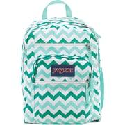 Jansport Big Student Backpack, Aqua/Chevron