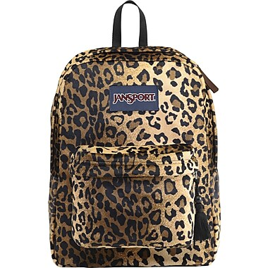 Jansport High Stakes Backpack, Cheetah Plush (TRS7ZS3) | Staples®