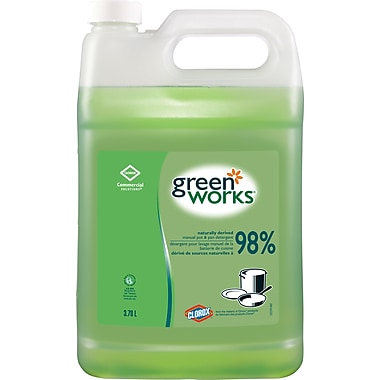 GreenWorks Pot and Pan Detergent, 3.78L