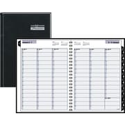 "2016 DayMinder® Weekly Appointment Book Planner, 8"" x 11"", Black, (G520H-00)"