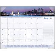 "2016 AT-A-GLANCE® Harbor Views Panoramic Desk Pad, 22"" x 17"", Design, (DMD145-32)"
