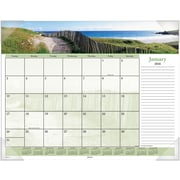 "2016 AT-A-GLANCE® Images of the Sea Panoramic Desk Pad, 22"" x 17"", Design, (DMD141-32)"