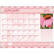 "2016 AT-A-GLANCE® Antique Floral Desk Pad, 22"" x 17"", Design, (DMD135-32)"