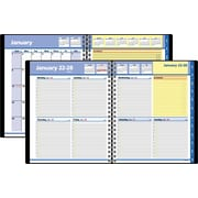 "2016 AT-A-GLANCE® QuickNotes® Weekly/Monthly Appointment Book Planner, 8"" x 9 7/8"", Black, (76-01-05)"