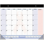 "2016 AT-A-GLANCE® QuickNotes® Special Edition Desk Pad, 22'' x 17"", White/Pink, (SKPN70-00)"