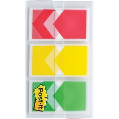 Post-it® – Languettes de priorisation, 3 couleurs, paq./60