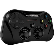 Wireless Gaming Controller for iPhone and iPad, Black