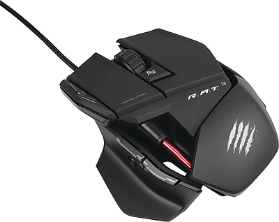 Cyborg R.A.T. 3 Gaming Mouse for Mac or PC, Black