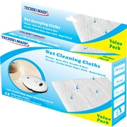 "Techko Maid RM022 Wet Cleaning Cloths 9x5.125"" 24/Pack"