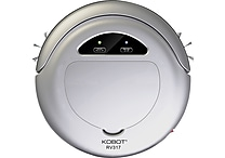 Techko KOBOT RV317 Robotic Vacuum & Hard Floor Cleaner, Silver (RV317-SK)
