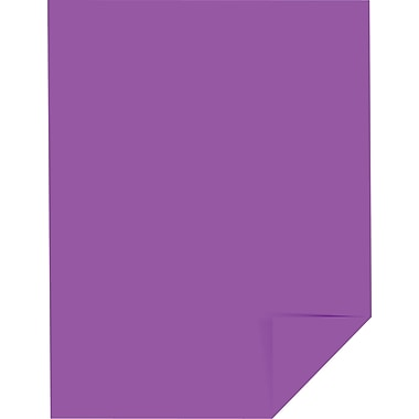 ASTROBRIGHTS® Color Paper, 8 1/2in. x 11in., 24 lb., Planetary Purple, 500/Ream