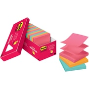 "Post-it® Original Pop-up Notes, 3"" x 3"", Cape Town Collection, Cabinet Pack, 18/Pack"
