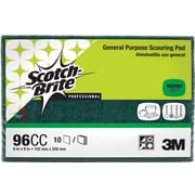 3M™ Scotch-Brite™ 96CC Commercial Scouring Pad, Green