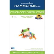 "Hammermill® 100 lbs. Color Copy Digital Ultra Smooth Photo Cover, 11"" x 17"", White, 250/Ream"
