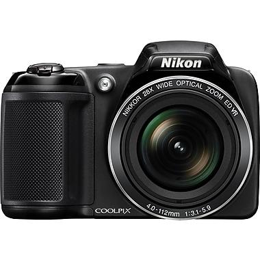 Nikon COOLPIX L340 Digital Camera, 20.2MP, 28x Optical Zoom, 3