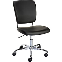 Staples 27373 Nadler Luxura Armless Office Chair (Black)