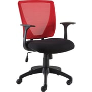 Staples® Vexa Mesh Chair, Red