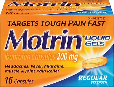 Motrin Ibuprofen Liquid Gels for Headaches | MOTRIN® CANADA