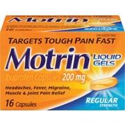 Motrin® IB Liquid Gels, Regular Strength