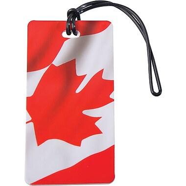 Austin House Waving Canada Flag Luggage Tag
