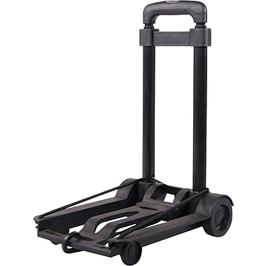 Austin House Foldable Compact Cart, Black