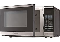 Westinghouse 0.7 Cubic Feet 700WCounter Top Microwave Oven with Stainless Steel Front