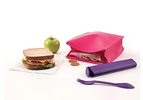 Designed By Students Lunch Bag Pink/Purple