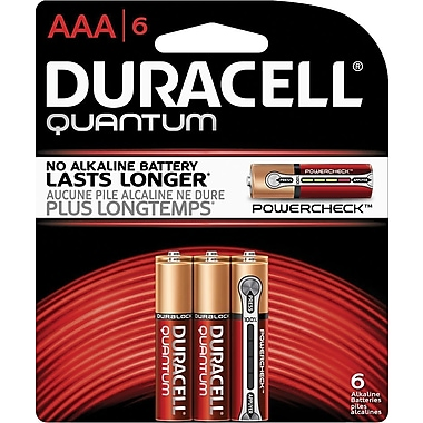 Duracell® Quantum AAA Batteries, 6/Pack