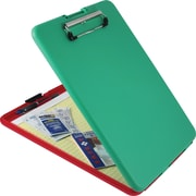 Saunders Show2Know Storage Organizer Clipboard, Letter, green/red, 9 x 11.75, Each (SAU-00580)