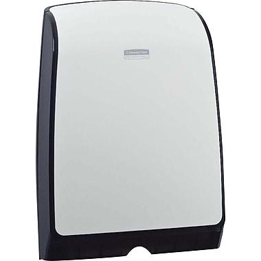 Kimberly-Clark - Distributeur d'essuie-mains Slimfold, blanc