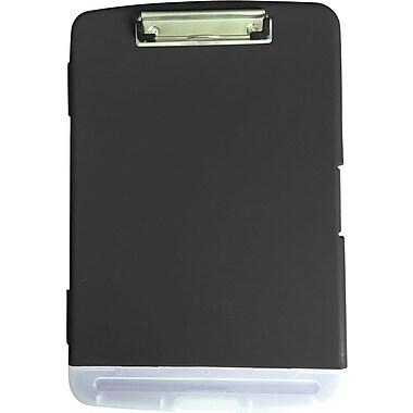 Staples® Storage Box Clipboard, Black