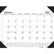"2016 House of Doolittle Economy Desk Pad Calendar, 22"" x 17"" (HOD124)"