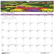 "2016 House of Doolittle Earthscapes Gardens of the World Wall Calendar, 12"" x 12"" (HOD301-16)"