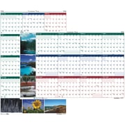 "House of Doolittle 2016 Earthscapes Scenic Laminated Wall Calendar, 24"" x 37"" (HOD393)"