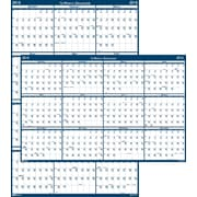 "2016 House of Doolittle Laminate Reversible Wall Calendar, 66"" x 33"" (HOD3962)"