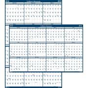 "2016 House of Doolittle Laminate Reversible Wall Calendar, 66"" x 33"" (HOD3962)"