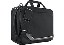 Solo Vector Collection Airport Security Friendly Clamshell Laptop Bag - Black
