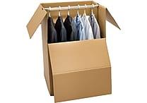 Pratt Wardrobe Box with Bar 20' x 20' x 34' (304161)