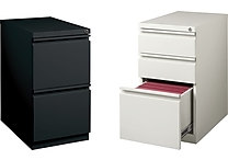 Staples Mobile Pedestal Files, 2-drawer or 3-drawer
