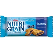 Nutri-Grain Kellogg s Blueberry Cereal Bar 64/Pack 1.3 Oz.