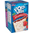 Kellogg's Pop-Tarts Frosted Strawberry, 8-Pack, 14.7 Oz Box (8 Count)