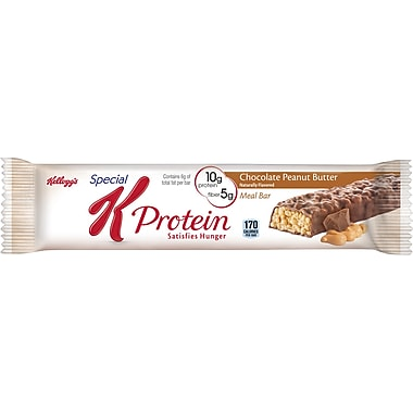 Kellogg's® Special K® Chocolate Peanut Butter Protein Bars, 1.59 oz. Bars, 8 Bars/Box