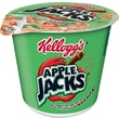 Kelloggs Apple Jacks Cereal in a Cup, 1.5 oz. Cups, 24/Pack