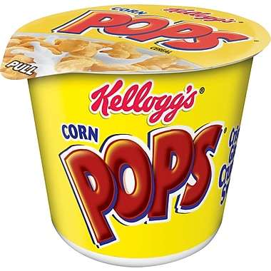 Kelloggs Corn Pops Cereal in a Cup, 1.5 oz., 24/Pack