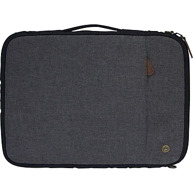 PKG - Sac/étui de transport universel « Stuff » pour tablette et ordinateur portatif de 15 po, noir