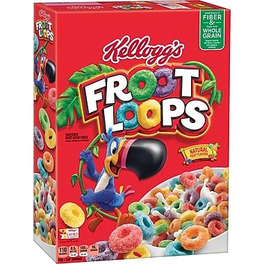 Kelloggs Froot Loops Cereal, 12.2 oz., 6/Pack